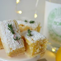 Lemon and Gin Blondies