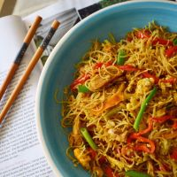 Easy Singapore Noodles