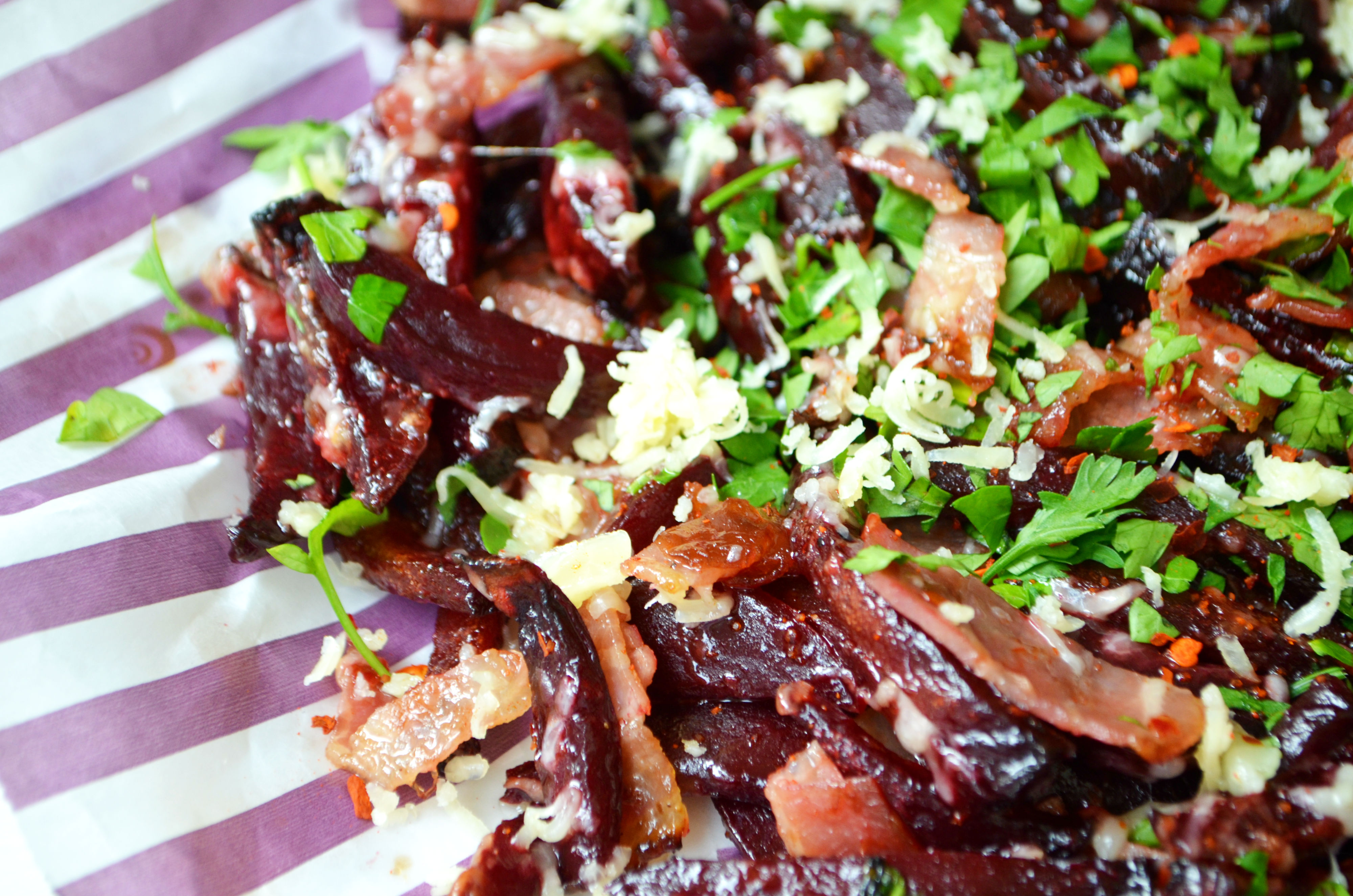Beetroot Filthy Fries
