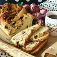 Orange and Nutella Babka