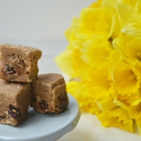 Welsh Cake Batter Fudge