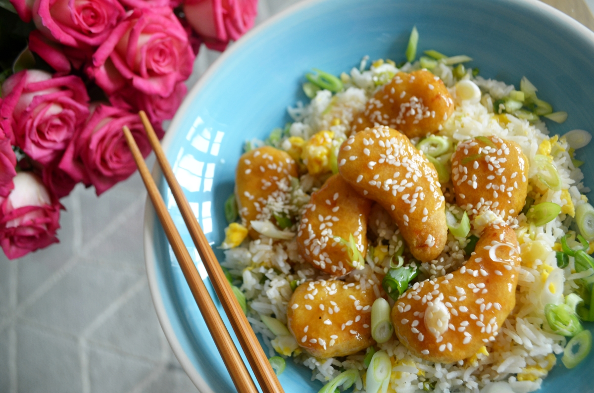 Easy Sticky Honey Chicken