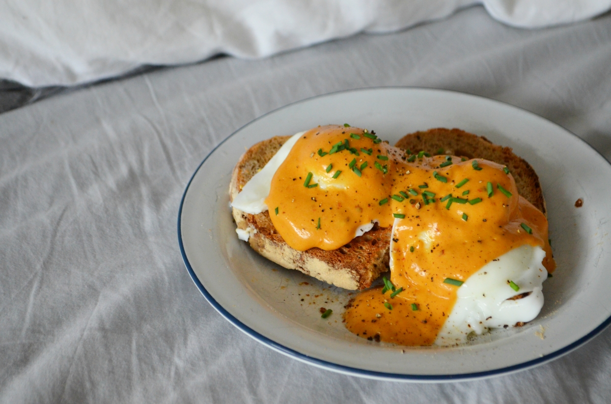 Mexican Eggs Benny