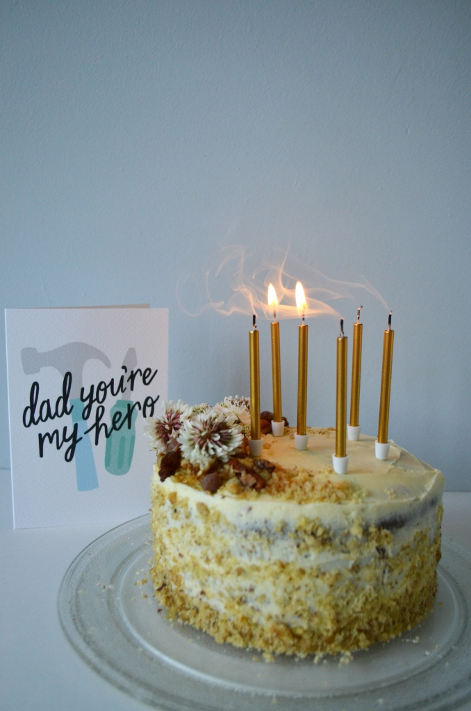Cakes and Bakes for Mother's Day - The Cardiff Cwtch - Coffe, Maple and Walnut Cake