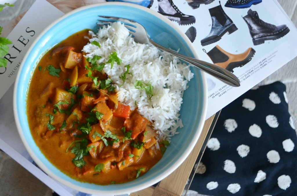 Winter Butternut Squash Curry - The Cardiff Cwtch