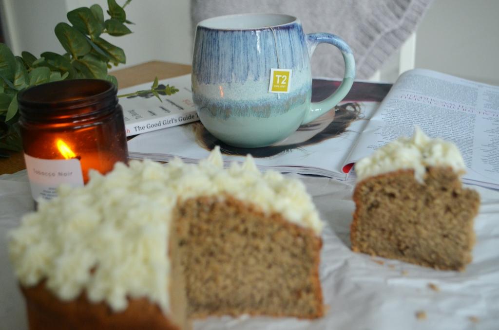 London Fog Cake - The Cardiff Cwtch - Earl Grey Enriched Cake