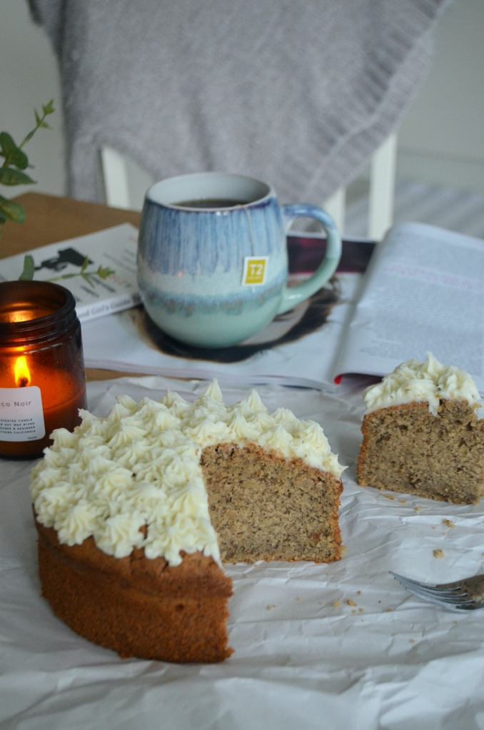 London Fog Cake - The Cardiff Cwtch - Earl Grey Latte Cake