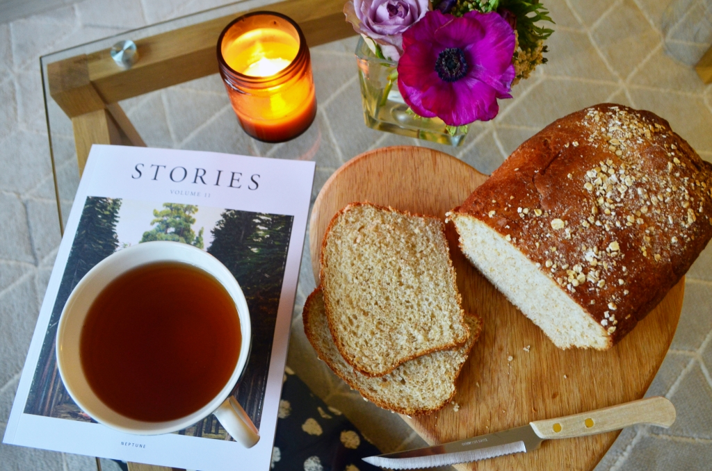 Simple Sunday Morning Oat Loaf - Bread Recipes - The Cardiff Cwtch