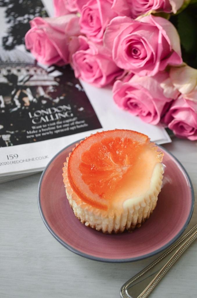 Mini Blood Orange Cheesecakes - Cheesecake Cupcakes - The Cardiff Cwtch