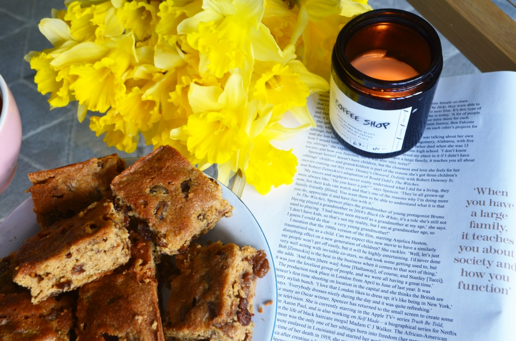 Bara Brith Blondies Recipe - Welsh Food and Drink - The Cardiff Cwtch - St David's Day Food