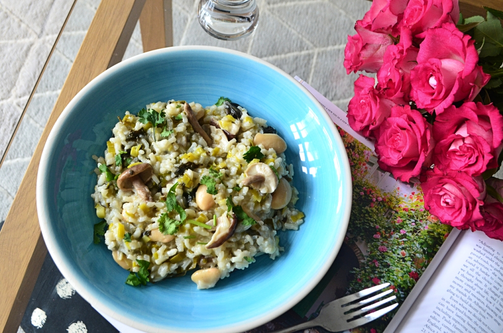 Easy Leek and Mushroom Risotto - The Cardiff Cwtch - Lockdown Lunches - Lunchtime Recipes
