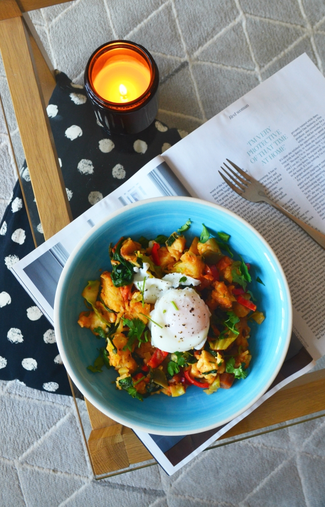 6 Lockdown Meal Planning Tips and Tricks - Halloumi Hash - The Cardiff Cwtch