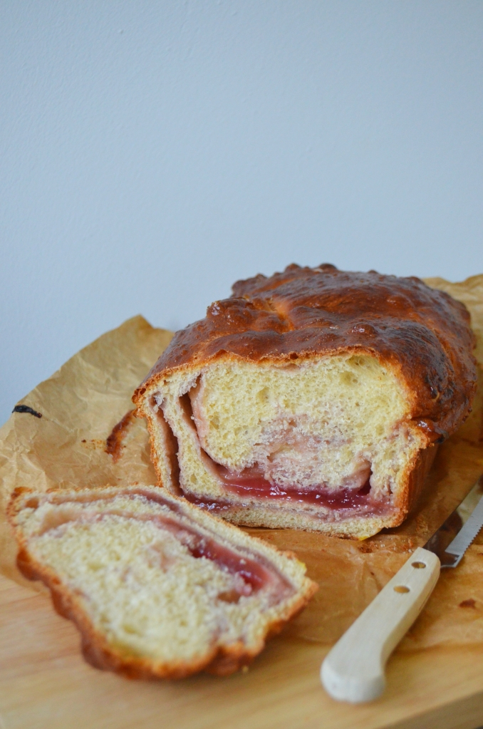Jam Doughnut Brioche Loaf - The Cardiff Cwtch - Brunch Ideas