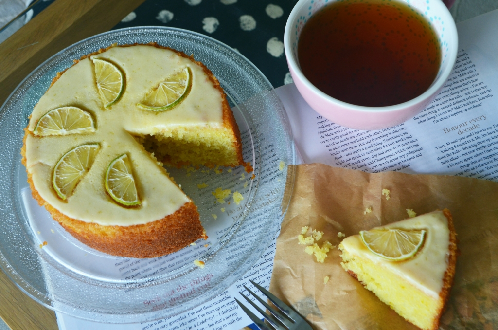 The Cardiff Cwtch - Easy Lime Cake - Lime Flavoured Cake - Cardiff Bloggers