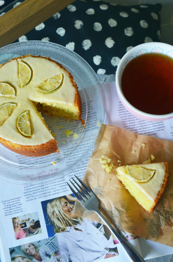 The Cardiff Cwtch - Easy Key Lime Cake - Lime Drizzle Cake