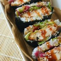 Chicken Katsu Sushi Sandwiches