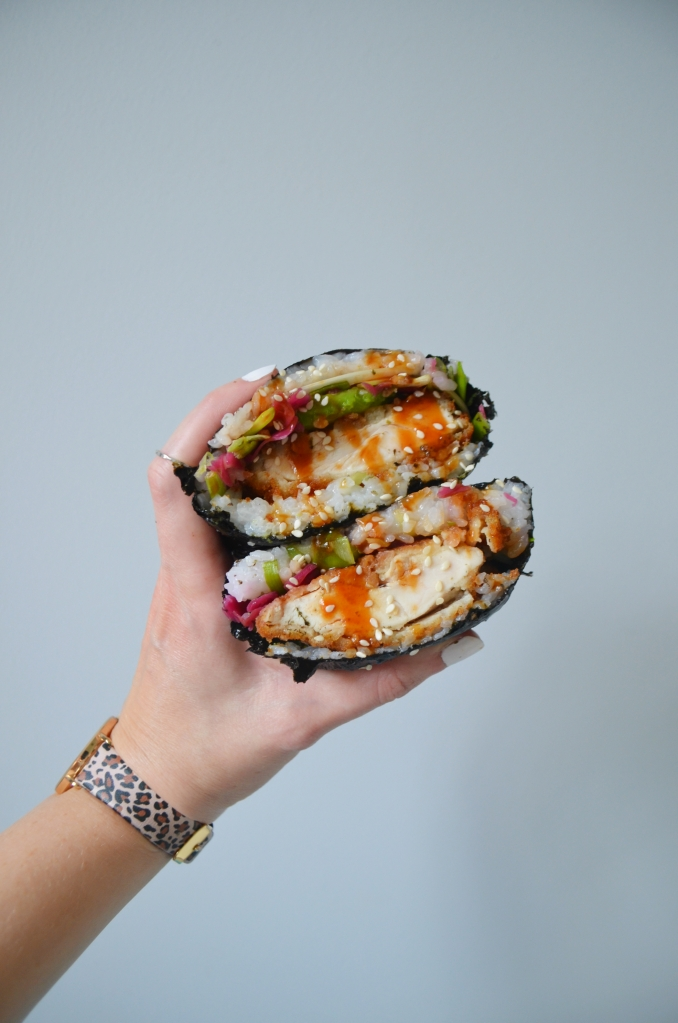 Chicken Katsu Sushi Sandwiches - The Cardiff Cwtch