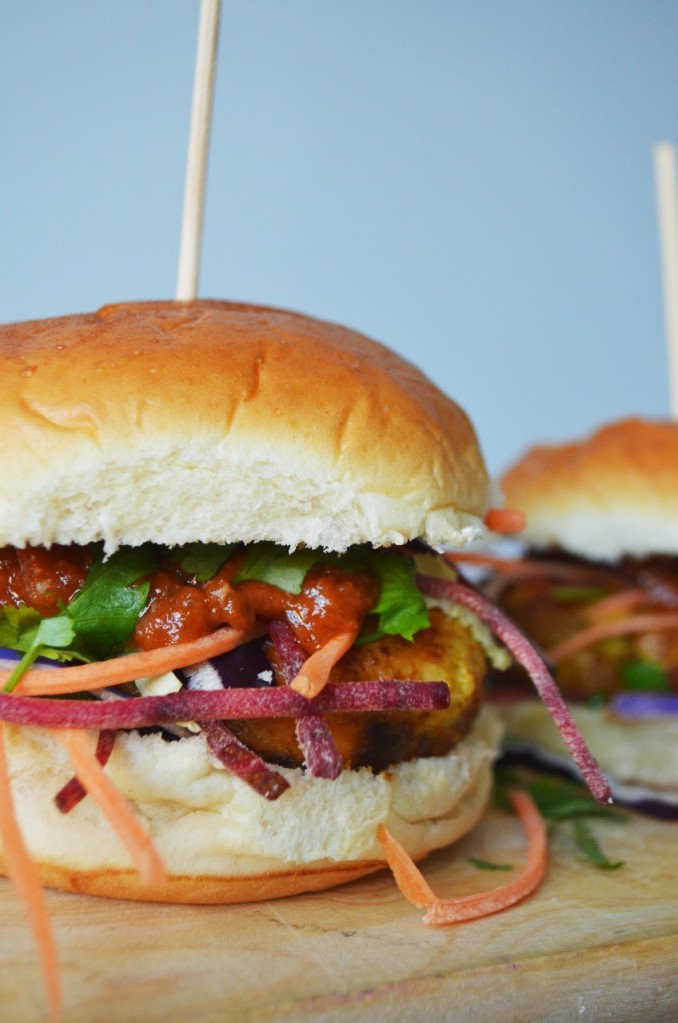Thai Burgers with Asian Slaw - The Cardiff Cwtch - Welsh Food Bloggers